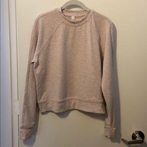 Lululemon baby pink sweatshirt